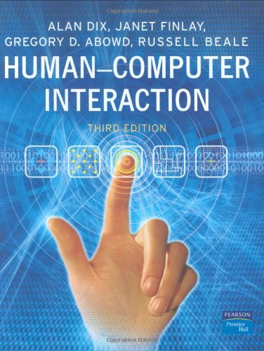 Human-Computer Interaction (3rd Edition) - Alan Dix, Janet E. Finlay, Gregory D. Abowd, Russell Beale