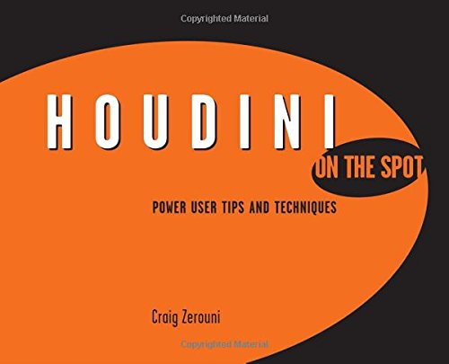 Houdini On the Spot: Time-Saving Tips and Shortcuts from the Pros (On The Spot {Series}) - Craig Zerouni