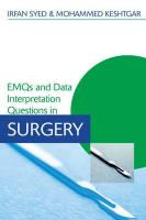 EMQs and Data Interpretation Questions in Surgery