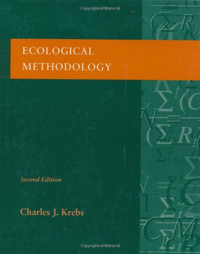 Ecological Methodology (2nd Edition) - Charles J. Krebs