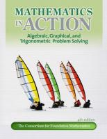 Mathematics in Action: Algebraic, Graphical, and Trigonometric Problem Solving