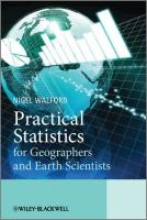 Introductory Statistics for Geographers and Earth Scientists