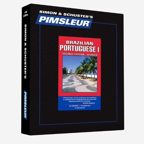 Portuguese (Brazilian) I: Learn to Speak and Understand Portuguese with Pimsleur Language Programs, 2nd Revised Edition (Comprehensive) - Pimsleur