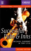 Successful Pubs and Inns - Sargent, Michael; Lyle, Tony