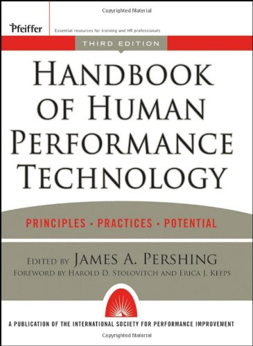 Handbook of Human Performance Technology, 3rd Edition - James A. Pershing