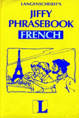 Jiffy Phrasebook French [Book Only] (English and French Edition) - Langenscheidt