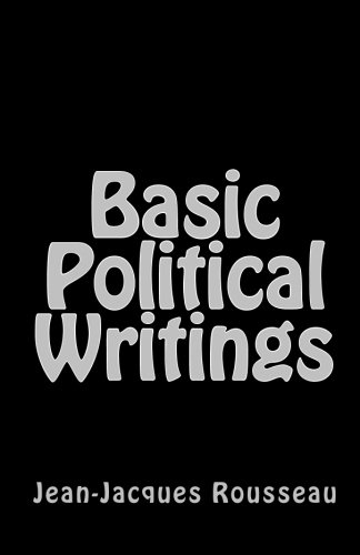 Basic Political Writings - Jean-Jacques Rousseau