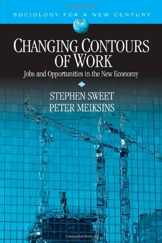 Changing Contours of Work: Jobs and Opportunities in the New Economy (Sociology for a New Century Series) - Stephen A. Sweet; Peter Meiksins
