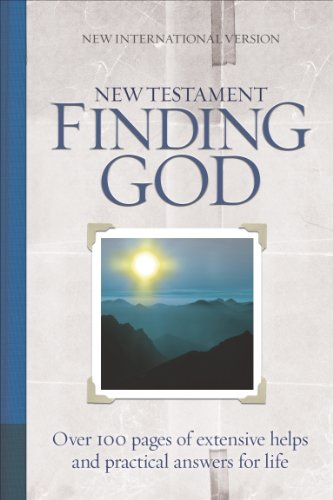 NIV Finding God New Testament  (84 NIV) - Biblica