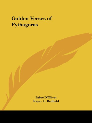 Golden Verses of Pythagoras (English and French Edition) - Fabre D'Olivet