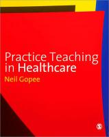 Practice Teaching in Healthcare - Gopee, Neil