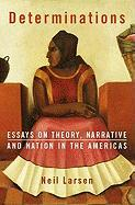 Determinations: Essays on Theory, Narrative and Nation in the Americas