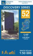 Irish Discovery Series 52. Cllare, Galway 1 : 50 000