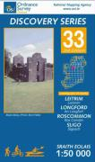 Irish Discovery Series 33. Leitrim, Longford, Roscommon, Sligo 1 : 50 000