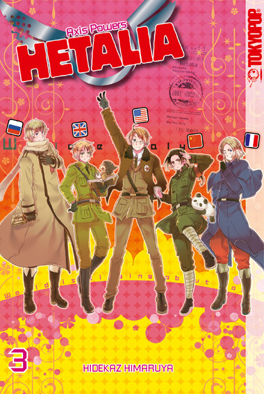 Hetalia - Axis Powers 03 - Hidekaz Himaruya