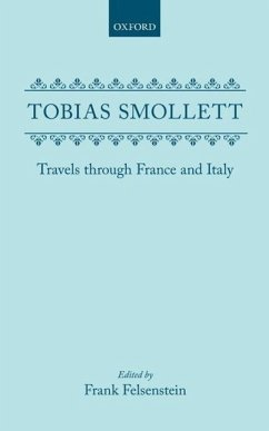 Travels Through France and Italy - Smollett, Tobias George