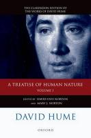 A Treatise of Human Nature, Volume 1: Texts: A Critical Edition
