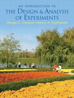 An Introduction to the Design & Analysis of Experiments - Canavos, George C. Koutrouvelis, Ioannis A.