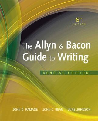 Allyn & Bacon Guide to Writing: Concise