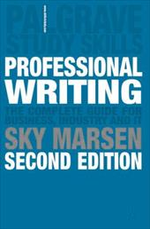 Professional Writing: 2nd Edition - Marsen, Sky