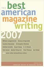 The Best American Magazine Writing - American Society of Magazine Editors