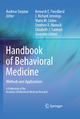 Handbook of Behavioral Medicine - Andrew Steptoe