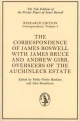 Correspondence and Other Papers of James Boswell - James Boswell; Marshall Waingrow; John Strawhorn