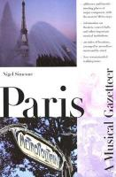 Paris--A Musical Gazetteer