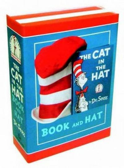 The Cat in the Hat Book and Hat - Dr Seuss