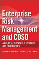 Enterprise Risk Management and COSO: A Guide for Directors, Executives, and Practitioners
