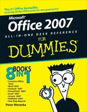 Office 2007 All-In-One Desk Reference for Dummies - Weverka, Peter