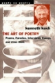 Art of Poetry - Kenneth Koch