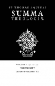 Summa Theologiae: Volume 6, the Trinity - Saint Thomas Aquinas; Ceslaus Velecky