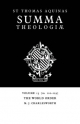 Summa Theologiae: Volume 15, the World Order - Saint Thomas Aquinas; M.J. Charlesworth
