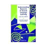 Understanding Research in Second Language Learning: A Teacher's Guide to Statistics and Research Design - James Dean Brown