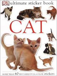 Ultimate Sticker Book: Cat - DK Publishing