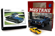 2007 Mustang Car-a-Day w/toy Box Calendar - Mike Mueller