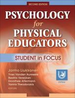 Psychology for Physical Educators: Student in Focus
