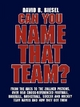 Can You Name That Team? - David B. Biesel