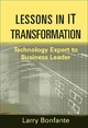 Lessons in IT Transformation - Larry Bonfante