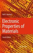 Rolf E. Hummel: Electronic Properties of Materials