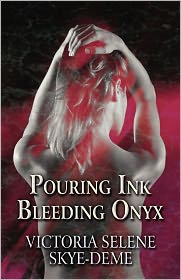 Pouring Ink Bleeding Onyx