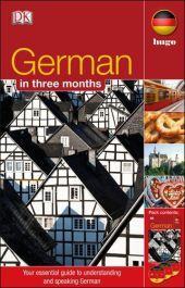 German in three months, 3 Audio-CDs + textbook - Sigrid-B. Martin