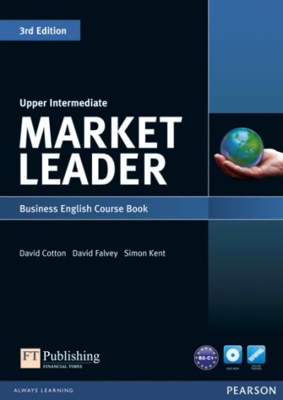 Market Leader 3rd Edition Upper Intermediate Coursebook & DVD-ROM Pack