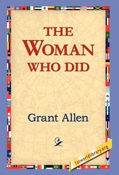 The Woman Who Did - Allen, Grant