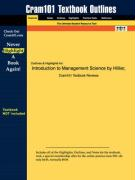 Outlines & Highlights for Introduction to Management Science by Hillier, ISBN: 0072493682