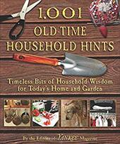 1,001 Old-Time Household Hints: Timeless Bits of Household Wisdom for Today's Home and Garden - Yankee Magazine