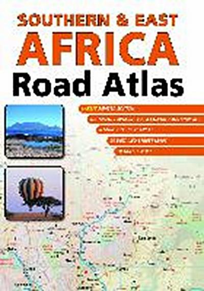 Southern & East Africa Road Atlas  1 : 1 500 000
