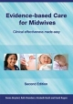 Evidence-Based Care for Midwives - Donna Brayford; Ruth Chambers; Gerard Hoffnung; David Rogers