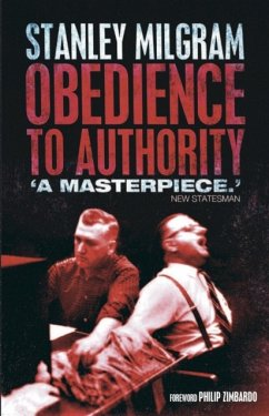 Obedience to Authority - Milgram, Stanley